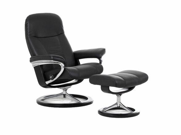 stressless consul signature lepotuoli m kampanja lepotuolit tuotteet maskun kalustetalo. Black Bedroom Furniture Sets. Home Design Ideas