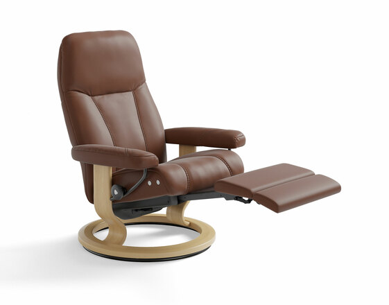 stressless consul classic legcomfort lepotuoli lepotuolit tuotteet maskun kalustetalo. Black Bedroom Furniture Sets. Home Design Ideas